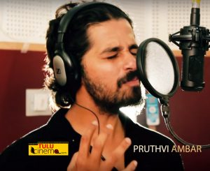 Actor Pruthvi Ambar sings for the cause, listen to this Kambala Song
