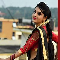 """Aaradya Shetty as Amruta in """"Arjun weds Amruta""""."""