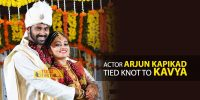 Actor Arjun Kapikad Tied Knot with Kavya.
