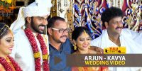 Arjun Kapikad Kavya wedding highlight video