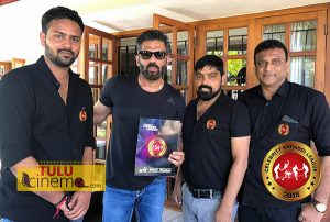 Bollywood actor Suniel Shetty launches official poster of Celebrity Kabaddi League 2018.