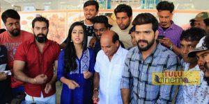 'Girgit' Tulu film team celebrates Aravind Bolar's birthday