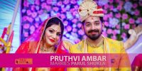 'Pruthvi Ambar' marries Parul Shukla,Take A Look at Their Wedding Pics