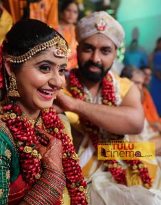Actress Radhika Rao tied knot with Aakarsh Bhat.